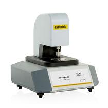 Système de mesure d'épaisseur / par contact direct / pour film / pour papier