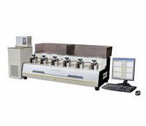 Appareil de mesure de perméabilité aux gaz / pour échantillon de polymères