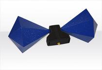 Antenne à large bande / biconique / mobile / de mesure