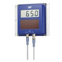 Thermomètre à infrarouge / numérique / stationnaire / solaire