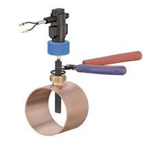 Contrôleur de débit à palettes / pour eau / à insertion