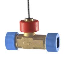 Capteur de débit à turbine / pour liquide / en ligne