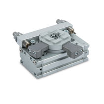 Actionneur rotatif / hydraulique / à pignon crémaillère / double