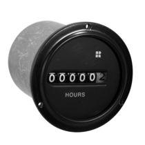 Compteur horaire / analogique / électromécanique / pour montage sur panneau