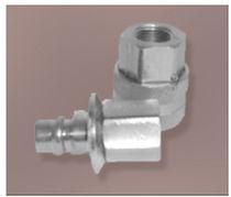 Raccord cannelé / coudé / pneumatique / à haute pression
