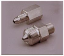 Raccord cannelé / droit / pneumatique / à haute pression