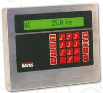 Indicateur de pesage numérique / portable / étanche / pour chariot élévateur