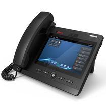 Téléphone avec caméra vidéo / VoIP / main-libre / pour bureau