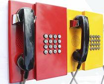 Téléphone standard / à sécurité intrinsèque / résistant aux intempéries / antivandalisme