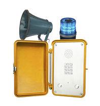 Téléphone analogique / IP66 / haut-parleur / résistant aux intempéries