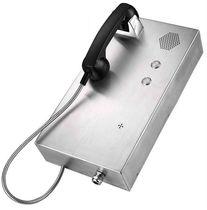 Téléphone à numérotation automatique / IP65 / en acier inoxydable / mural