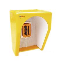 Cabine acoustique / de téléphone / pour zones dangereuses / pour environnement bruyant