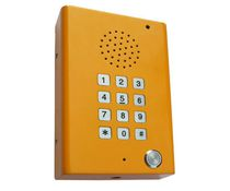 Interphone d'urgence / pour ascenseur / antivandalisme / durci