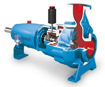 Pompe à boue / pour eaux usées / électrique / à vortex