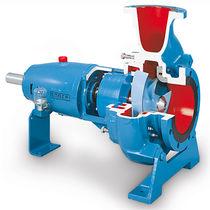 Pompe pour eaux chargées / électrique / centrifuge / pour l'industrie chimique