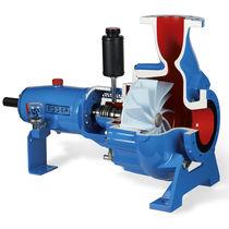 Pompe pour eaux usées / électrique / à vortex / mono-étagée