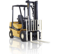 Chariot élévateur GPL / diesel / à conducteur porté assis / de manutention