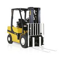 Chariot élévateur GPL / à moteur diesel / à conducteur porté assis / pour entrepôts