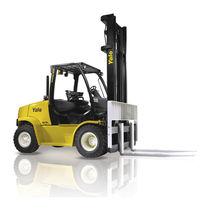 Chariot élévateur GPL / diesel / à conducteur porté assis / industriel