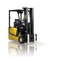 Chariot élévateur électrique / à conducteur porté assis / pour entrepôts / pour conteneur