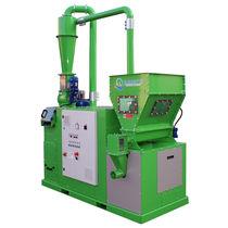 Unité de recyclage d'aluminium / de câbles / de métaux / à haut débit