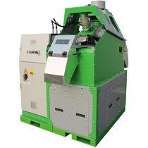 Séparateur de céréales / de granulés / pour l'industrie du recyclage / vertical
