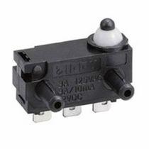 Micro-rupteur unipolaire / action momentanée / subminiature / électromécanique