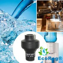 Régulateur de pression pour eau potable / mono-étagé / à membrane / en composite