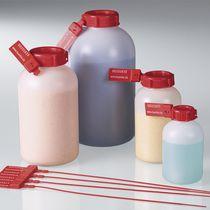 Flacon en HDPE / avec bouchon / pour préparation d'échantillons / pour laboratoire