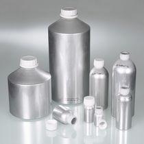 Flacon cylindrique / en aluminium / avec bouchon / pour laboratoire