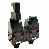 Vanne pneumatique / électrique / d'arrêt / pour air