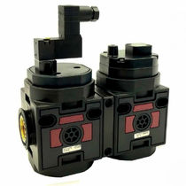 Vanne électrique / à commande pneumatique / d'arrêt / pour air