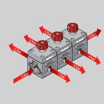 Régulateur de pression pour air / à piston / mono-étagé / modulaire