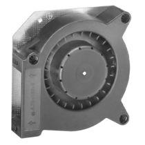 Ventilateur centrifuge / d'évacuation / à aubes droites inclinées vers l'avant / compact