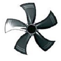 Ventilateur axial / EC / en acier / industriel