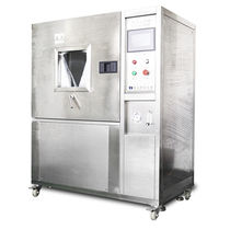 Chambre d'essai d'étanchéité à la poussière / avec régulation climatique et de température