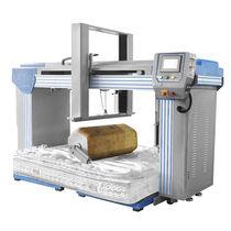 Machine de test de longevité / pour matelas / à rouleaux