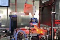 Machine d'emballage semi-automatique / en ligne / en bouteille / haute cadence