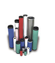 Cartouche filtrante à air / au charbon actif / métal