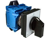 Interrupteur à cames / multipolaire / à levier tournant / électromécanique