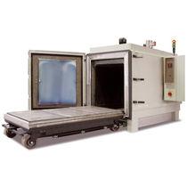 Four à sole mobile / de traitement thermique / avec circulation d'air