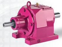 Réducteur à engrenage hélicoïdal / coaxial / tri-étagé / à deux étages