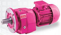 Motoréducteur triphasé / coaxial / à engrenage hélicoïdal / tri-étagé