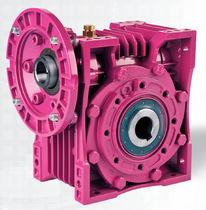 Réducteur à vis sans fin / perpendiculaire / pour transmission / modulaire