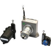 Capteur de position à câble / avec interface bus de terrain / numérique / analogique