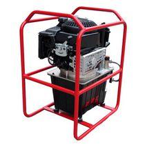 Groupe hydraulique à moteur thermique / pour application mobile / pour chantier / haute pression