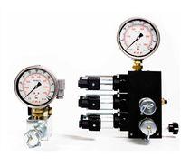 Vanne à commande hydraulique / pour huile / 3 voies