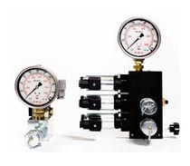 Vanne à commande hydraulique / pour huile / 4/3 voies