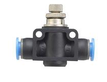Vanne pneumatique / de contrôle de débit / pour air / en ligne