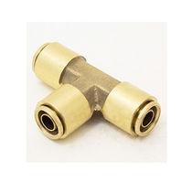Raccord push-to-lock / en T / pneumatique / en laiton